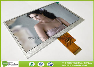 China 40Pin LVDS Interface 7.0 Inch 1024x600 TFT LCD Display Replace HJ070NA - 13A supplier