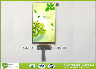 China Customizable High Luminance FWVGA 480x854 5.0 Inch IPS LCD Display supplier