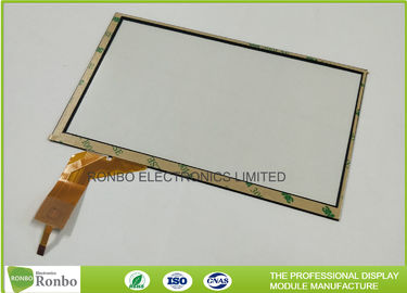 I2C Interface 7 Inch Multi-touch Projected Capacitive Touch Panel P + G Structure Controller GT911