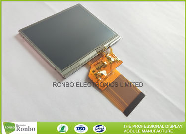 China 320 * 240 Resolution 3.5 Inch Lcd Display Touch Screen 300cd / M² Brightness supplier