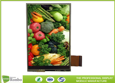 China 350cd/m² Brightness TFT LCD Display 3.5 Inch 320x480 MCU 16 Bit 39 Pin Durable supplier