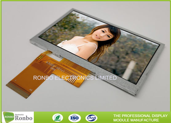 China High Brightness LCD Module 4.3 inch 480x272 Industrial LCD Panel Replace Innolux AT043TN25 supplier