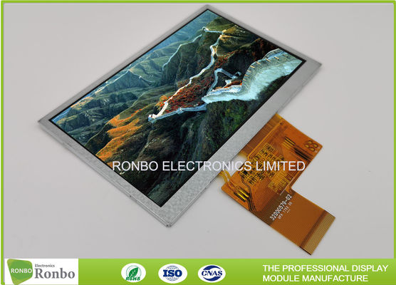 High Brightness 480x272 5.0 Inch TFT LCD Screen Module RGB 40pin Color Display For Pos and Navigation