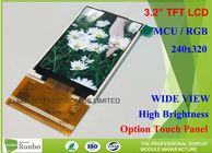China 46 Pin 3.2 Tft Lcd Display Module High Brightness 240 * 320 Resolution factory