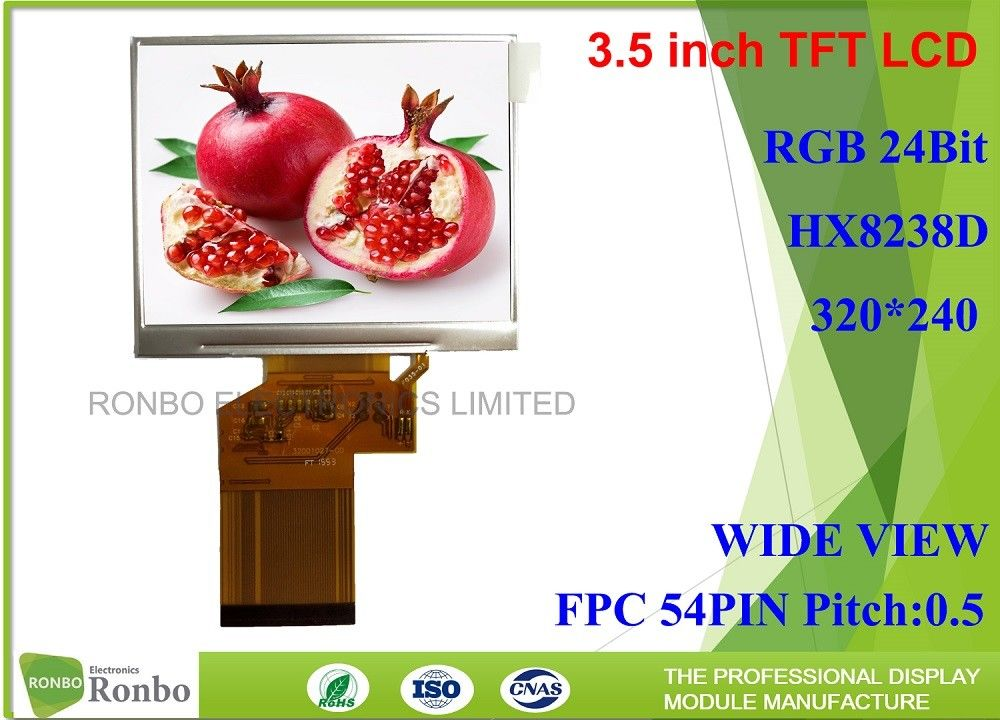3 5 Inch 320*240 Industrial LCD Panel Replace CHIMEI