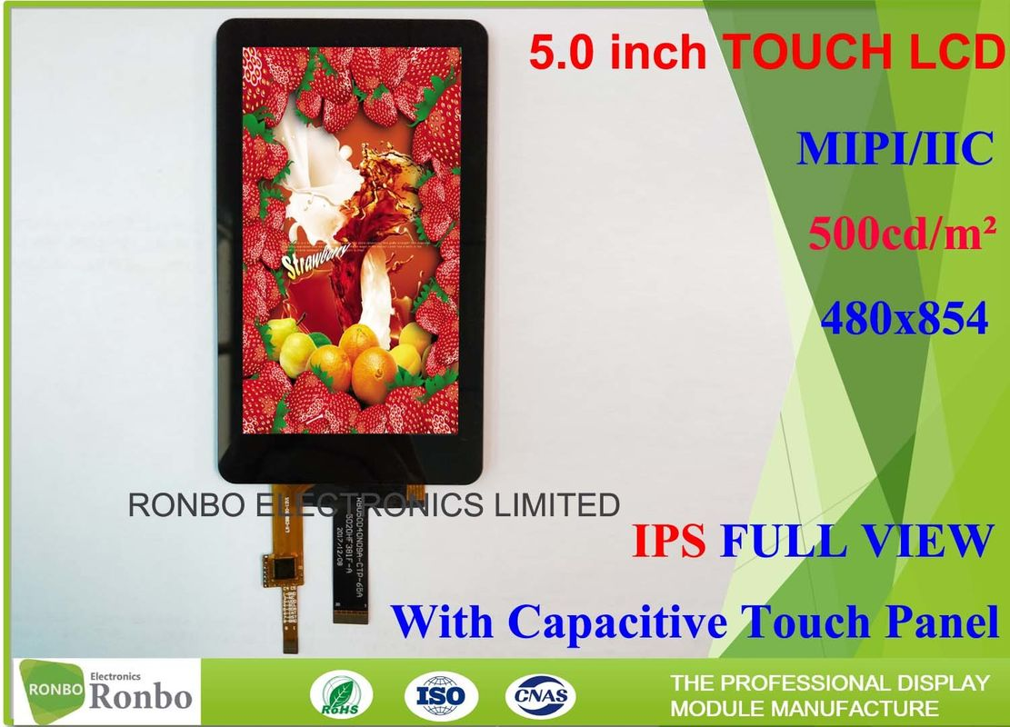 High Luminance Ips Touch Screen Lcd Display 50 Inch 460cd M With Eeti Controller Buy Resistive Screentouch Brightness