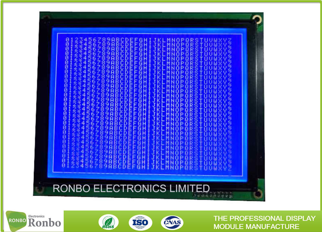 Stn Fstn Cob Graphic Lcd Module 57 Inch Durable With 20 Pin 8080 Description For Interfacing Microcontrollers On Interface