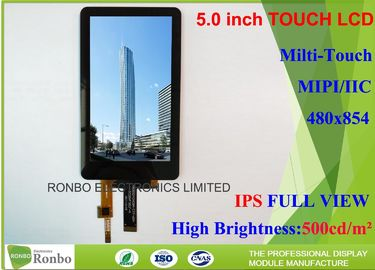 China IPS Lcd Phone Screen , 5 Inch Mobile Lcd Display 460cd / M² Brightness distributor