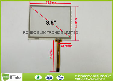 China 4 Wire Touch Screen Control Panel , 3.5 Inch Industrial Resistive lcd touch panel distributor