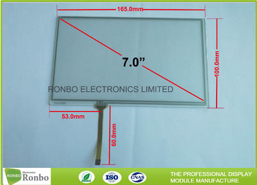 China 7 Inch 4 Wire Resistive Touch Panel 60.0mm FPC Length Long Durability factory