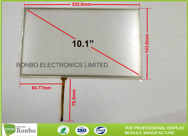China 10.1 Inch 4 Wire RTP Resistive Touch Panel Screen For 1024 x 600 LCD Display distributor