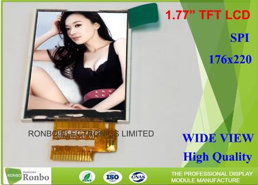 China Customized 1.77 Inch Lcd Display , Small Lcd Display Screens With Backlight distributor