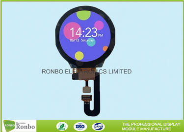 China Smartwatch Round LCD Display 1.3 Inch IPS 240x240 SPI Interface RoHS Compliant distributor