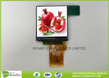 China Thin and Square Smartwatch LCD Display 1.3 Inch 240x240 IPS View Angle SPI Interface distributor