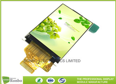 China Full View Angle IPS LCD Display 2'' 240x320 300cd/m² Brightness RoHS Compliant distributor