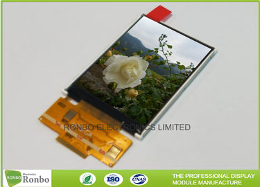 China SPI Interface Customized TFT LCD Display 2.4 Inch Resolution QVGA 240x320 18 Pin distributor