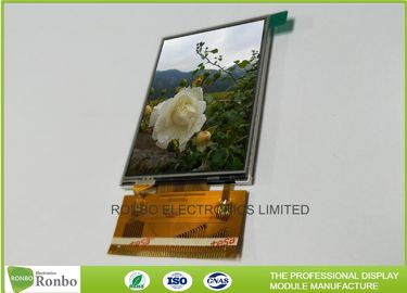 China 3.2 Inch Sunlight Readable Touch Screen 240 * 320 Resolution 1.0mm Pin Pitch factory