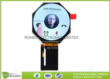 China Resolution 320x320 Circular Lcd Display 2.4 Inch Compatible With TM033XDHG01 distributor