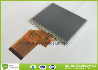 China Same as LQ035NC211 3.5 Inch 320 * 240 Resolution Resistive Touch Screen Industrial LCD Display distributor