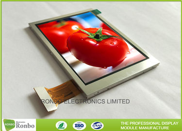 China TFT Transflective Industrial LCD Screen 3.5 Inch 240x320 RGB / SPI Interface factory