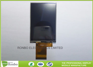 "China Sunlight Readable High Brightness TFT Display 3.5"" 320x480 MCU 16/18 Bit Resistive Touch factory"