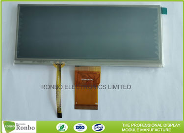 China Touch Screen Advertising LCD Display 6.5 Inch Resolution 800 * 320 Bar Type distributor