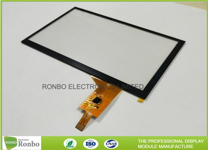 "Industrial PCT / PCAP Multi Touch Screen Panel Thin Film to Glass Structure 7.0"" IIC Interface 1"