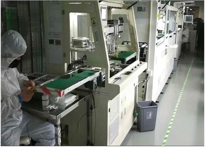 RONBO ELECTRONICS LIMITED factory production line 0