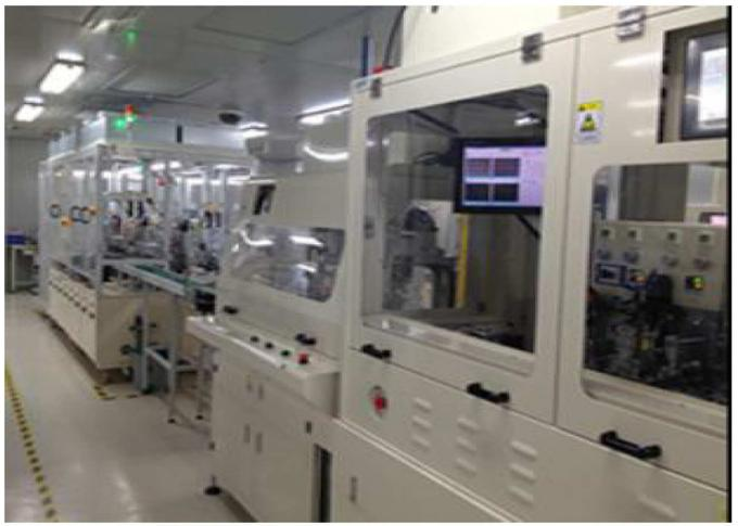RONBO ELECTRONICS LIMITED factory production line 1