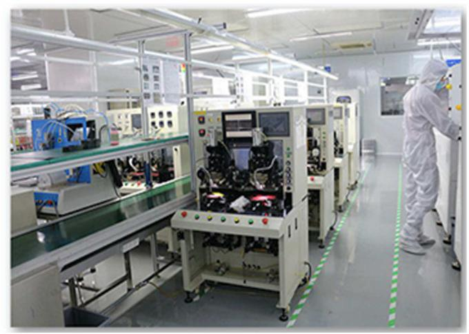 RONBO ELECTRONICS LIMITED factory production line 2